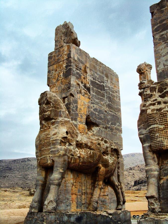 Persepolis, portone di tutte le nazioni immagine stock