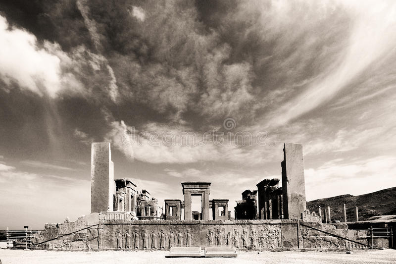 Persepolis, Shiraz, Iran fotografie stock libere da diritti