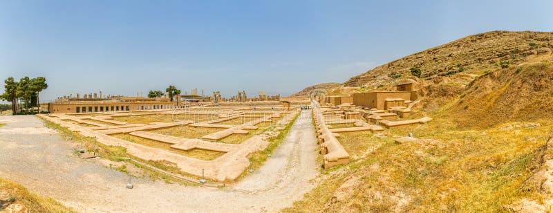 Persepolis stadspanorama royaltyfria bilder