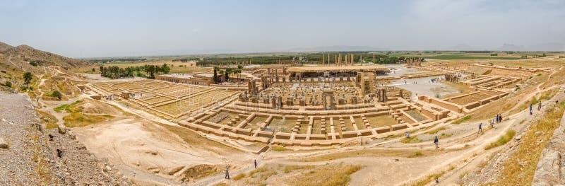 Persepolis stadspanorama royaltyfria foton