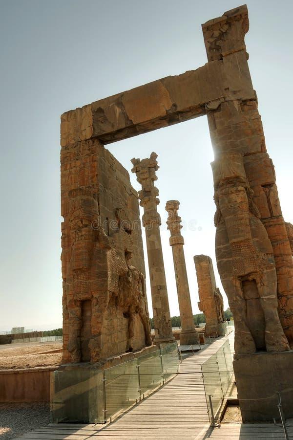 Persepolis wejście fotografia royalty free