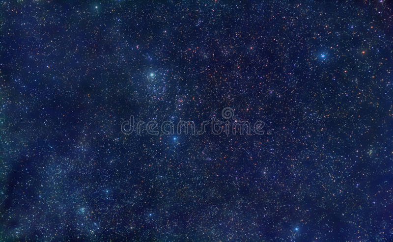 Perseus Constellation Space Royalty Free Stock Photography