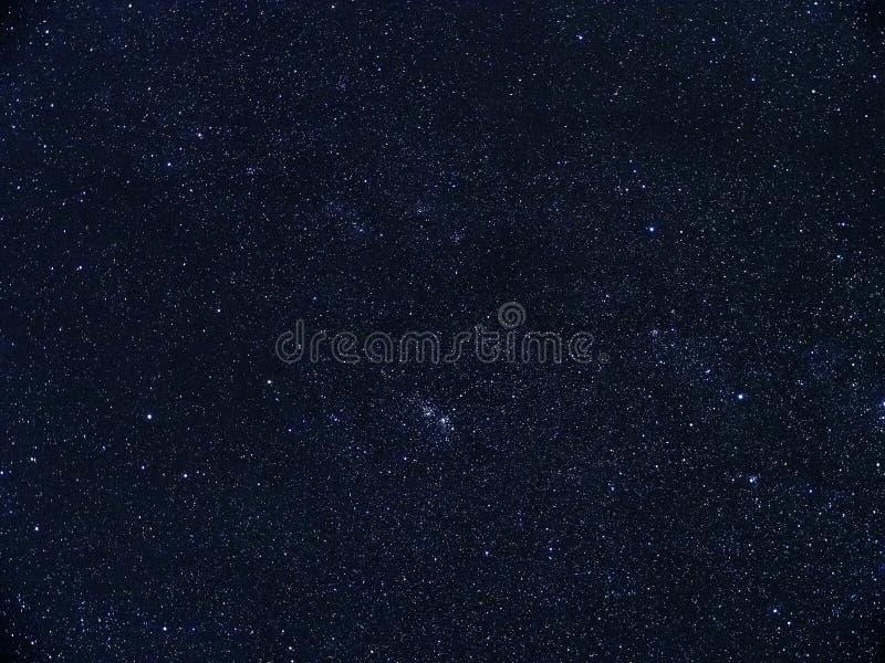 Perseus för stjärnor för natthimmel konstellation royaltyfri bild