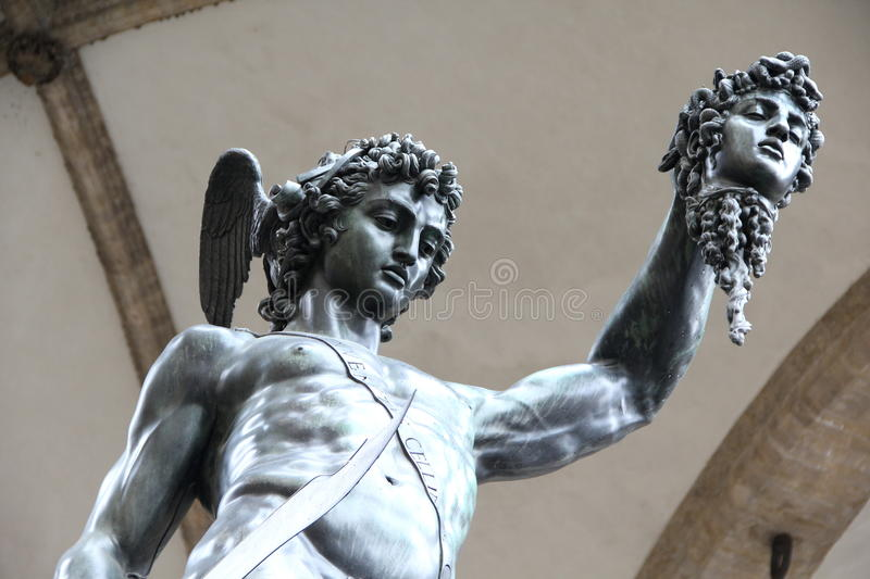 Perseus and Medusa royalty free stock photos