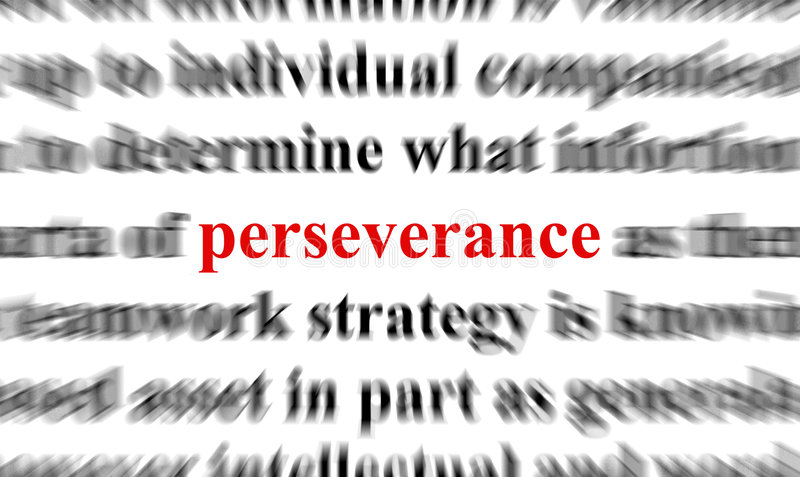 Perseverance stock illustration