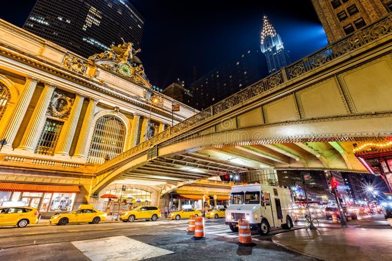 Pershingsvierkant, de Stad in van Manhattan, New York stock fotografie