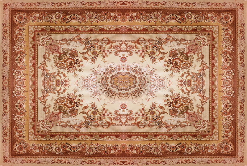 Persian Carpet Texture Abstract Ornament Round Mandala
