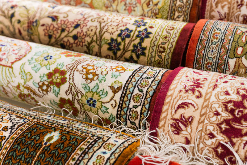 Persian carpets royalty free stock photography