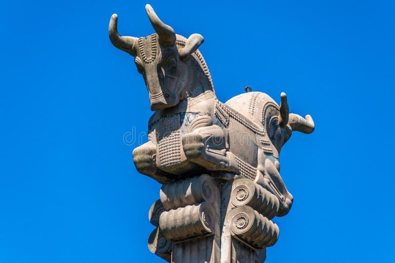 Persian Column in Buenos Aires, Argentina. royalty free stock photos