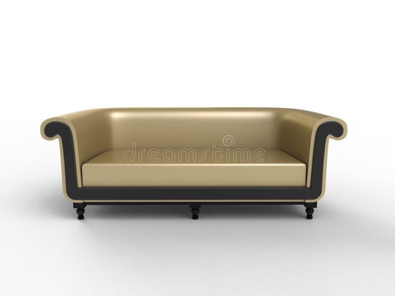 Persian Sofa stock illustration