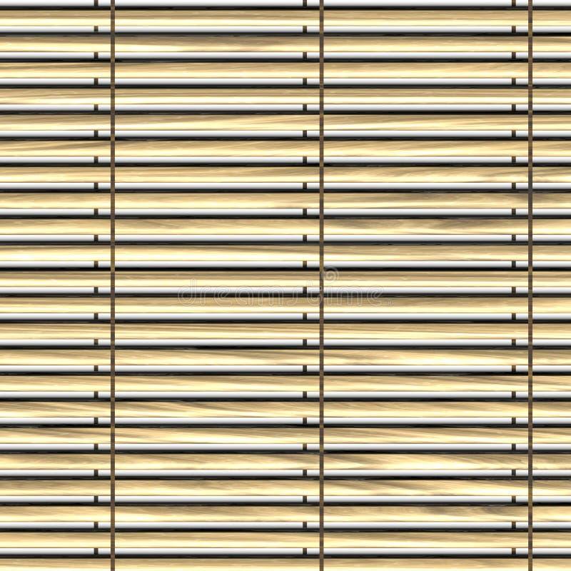 Persianas de ventana stock de ilustración