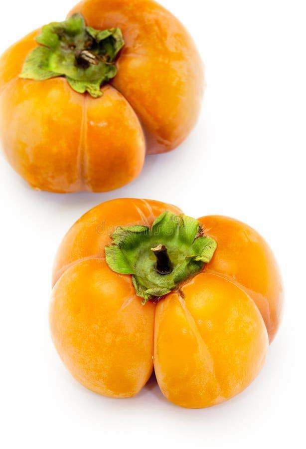 Persimmonfrukt fotografering för bildbyråer