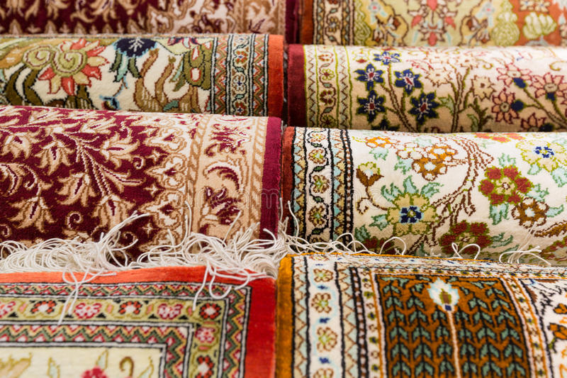 Persische Teppiche lizenzfreies stockfoto