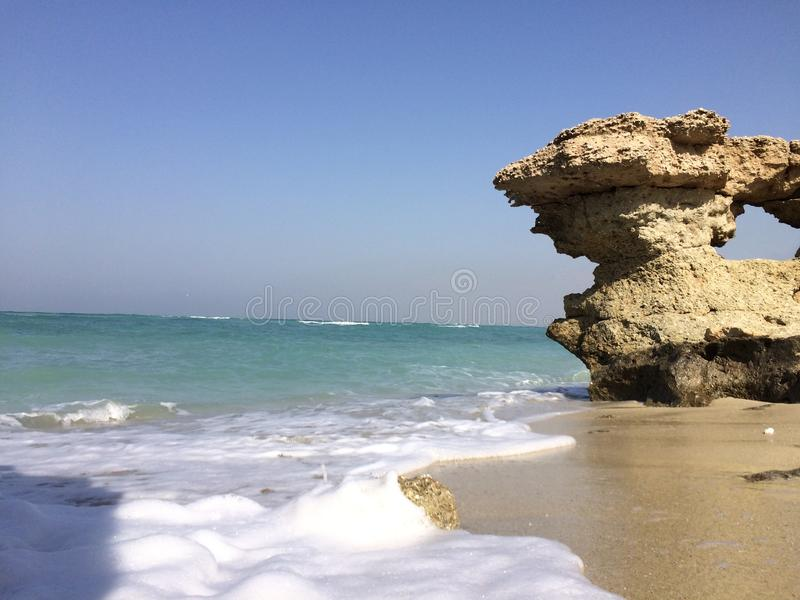 Persischer Golf stockfoto