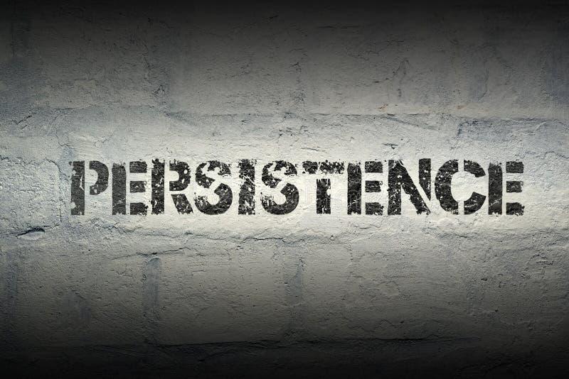 Persistance WORD GR photo libre de droits