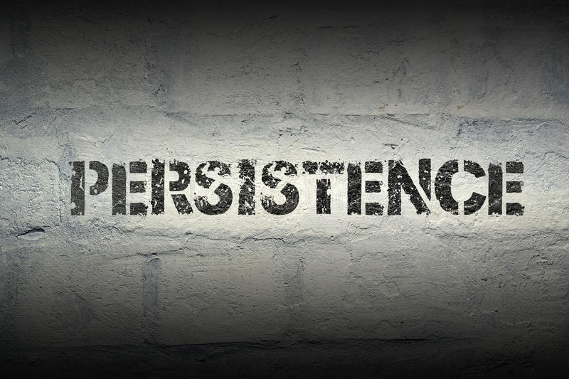 Earl Nightingale quote: By being persistent, you're ...  |Persistence Word