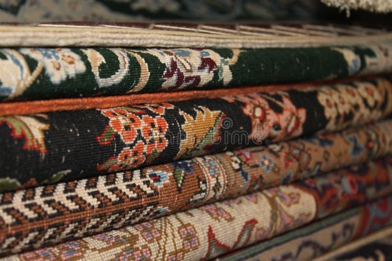Perski dywan w centrum handlowym zdjęcia stock