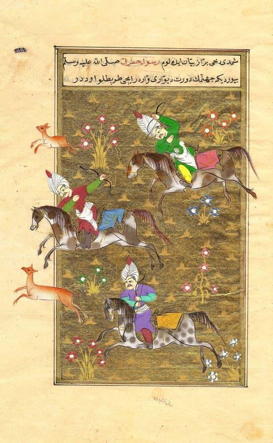perski graczem polo ilustracji