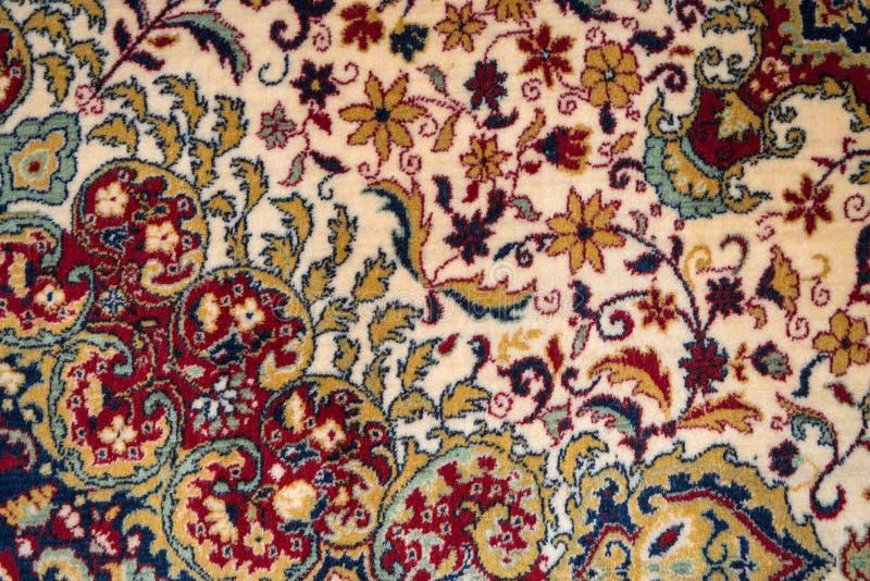 Perskiego dywanu tekstura zdjęcia stock