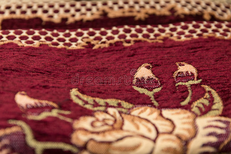 Perskiego dywanu tekstura, abstrakcjonistyczny ornament obraz stock