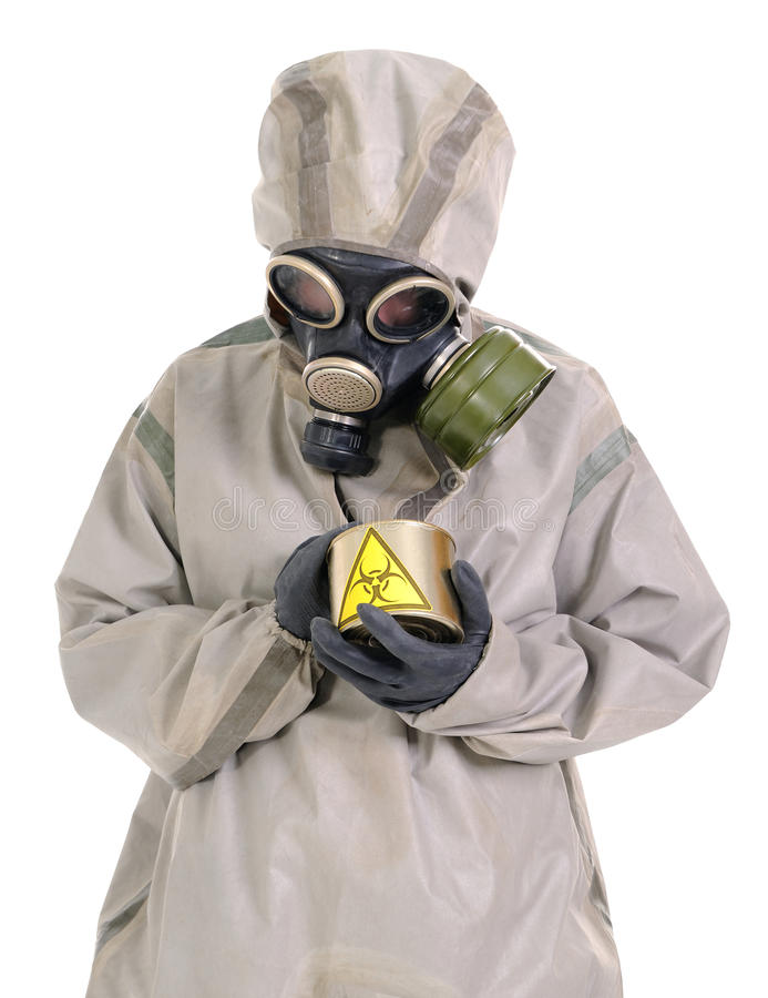 Download The Person & Biologically Dangerous Canned Stock Image - Image: 15410685