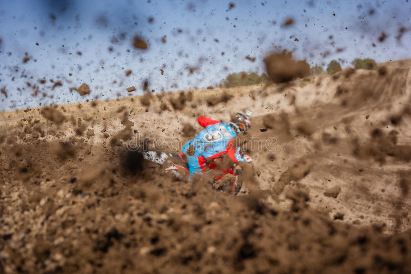Person In Blue And Red Suit Riding Dirt Bike During Daytime Free Public Domain Cc0 Image