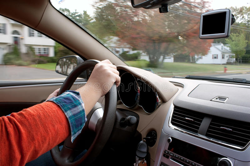 Download Person Driving A Car Stock Photos - Image: 21979613