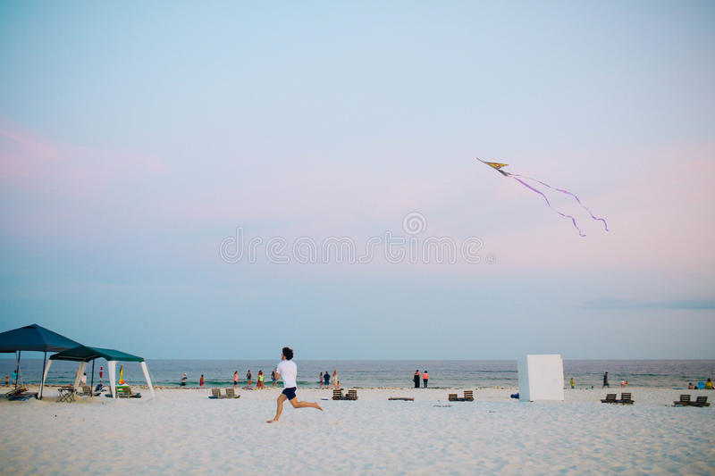 Person Flying A Kite Free Public Domain Cc0 Image