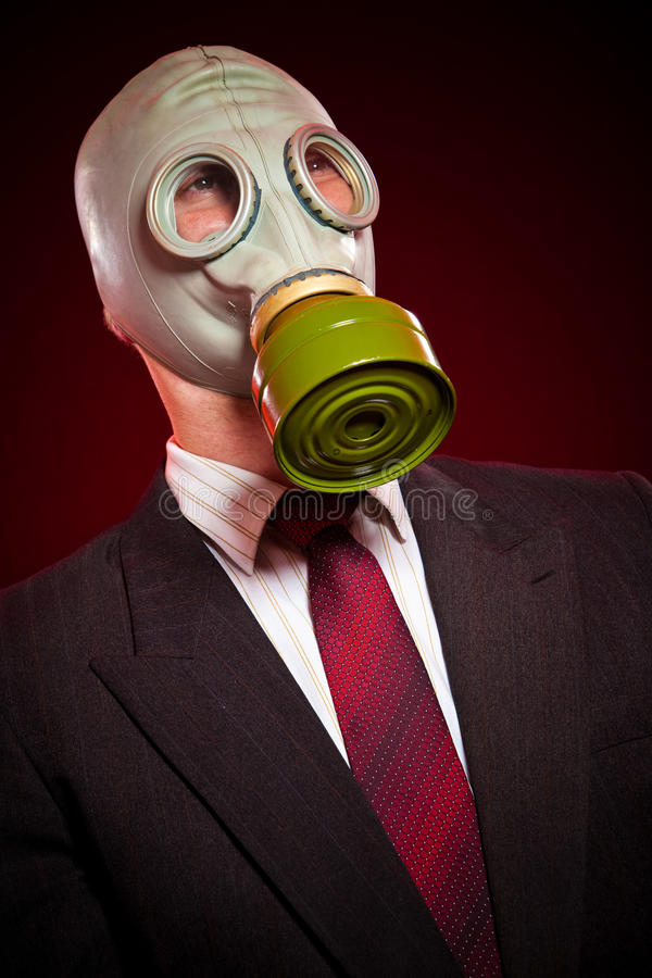 Download Person in a gas mask stock image. Image of care, protection - 12546247