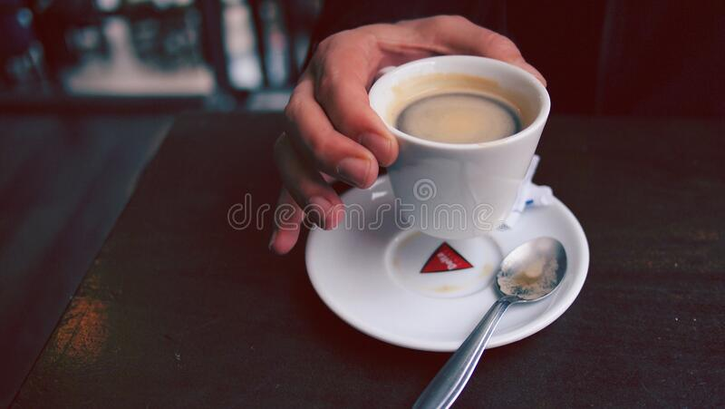 Person Holding Cup Of Coffee Free Public Domain Cc0 Image