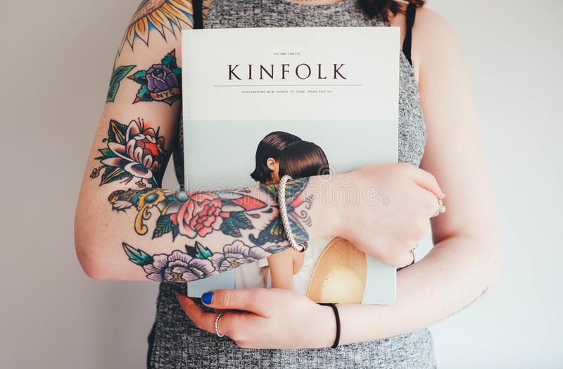 Person Holding Kinfolk Magazine Free Public Domain Cc0 Image
