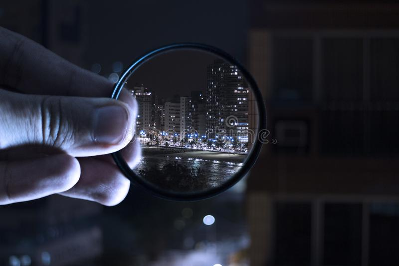 Person Holding Magnifying Glass Free Public Domain Cc0 Image
