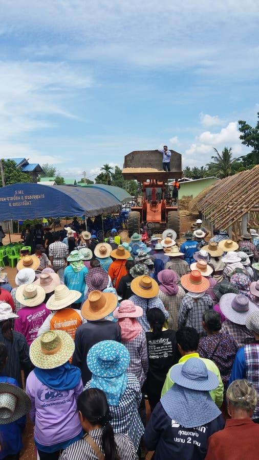 Person i nakornratchasimaen mycket trevliga Thailand arkivbilder