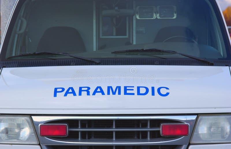 person med paramedicinsk utbildning royaltyfria foton