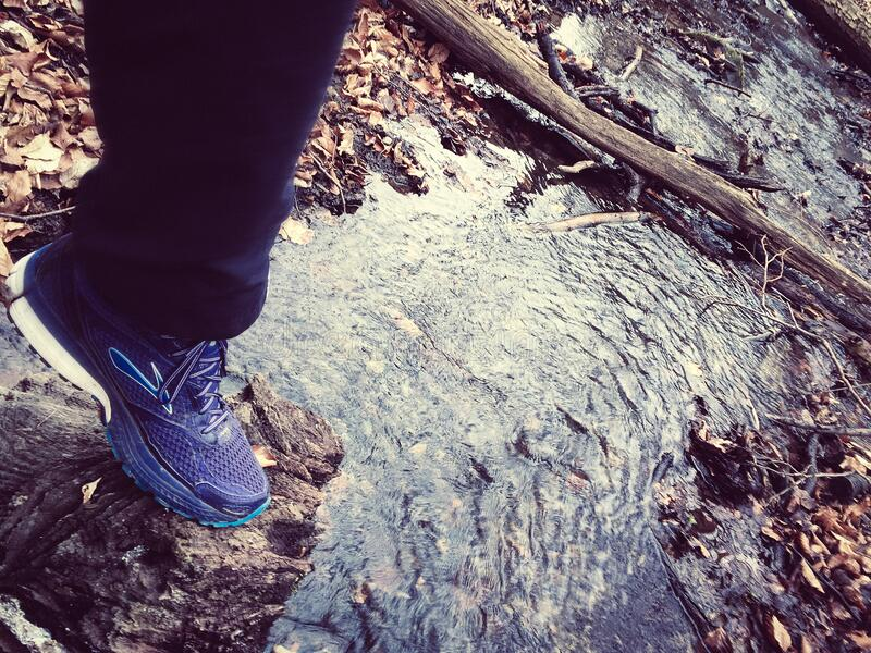 Person In Navy Blue Sweatpants And Blue And White Sneakers Free Public Domain Cc0 Image