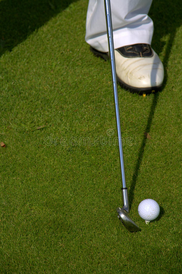 Download Person Playing Golf Royalty Free Stock Photo - Image: 26037205