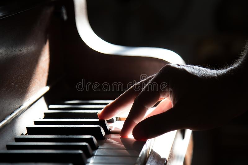 Person Playing Piano Free Public Domain Cc0 Image