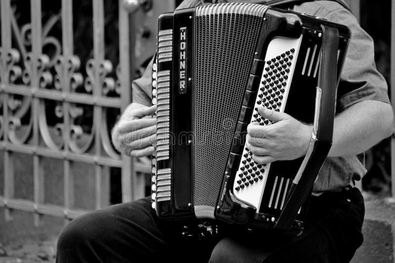 Person Playing um Horner Intrument musical no Grayscale fotos de stock