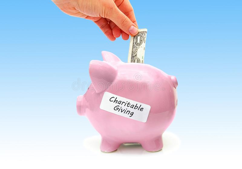 Charitable Giving concept royalty free stock images