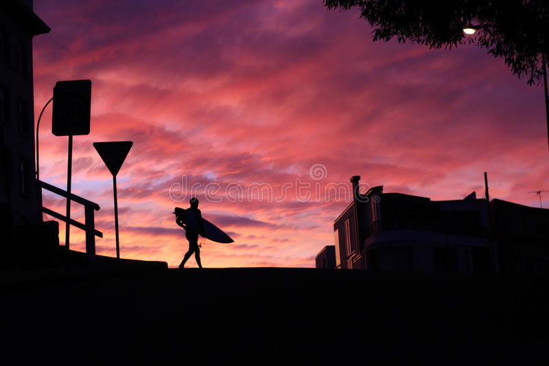 Person's Walking Holding Surf Board During Sunset Free Public Domain Cc0 Image