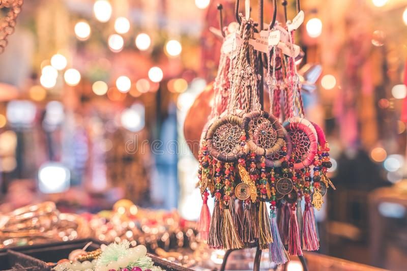 Person Showing Assorted Dream Catcher Keychain Lot In Tilt Shift Photography Free Public Domain Cc0 Image