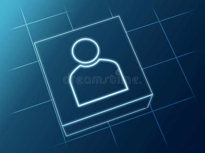 Person Sign Royalty Free Stock Photo