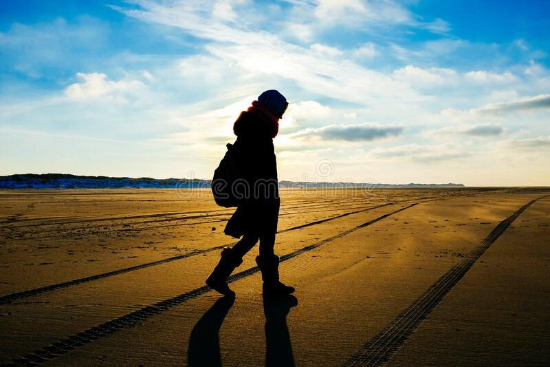 Person Silhouette during Daytime stock image