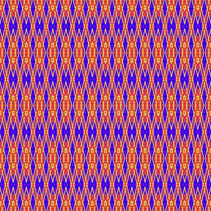 Person som tillhör en etnisk minoritet vävd textur vektor illustrationer