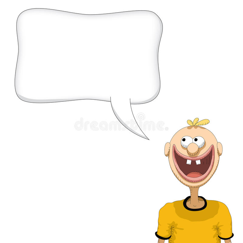 Download Person speaking stock vector. Illustration of looking - 21405788