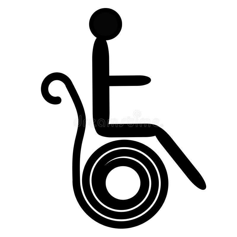 Person symbol stock illustration