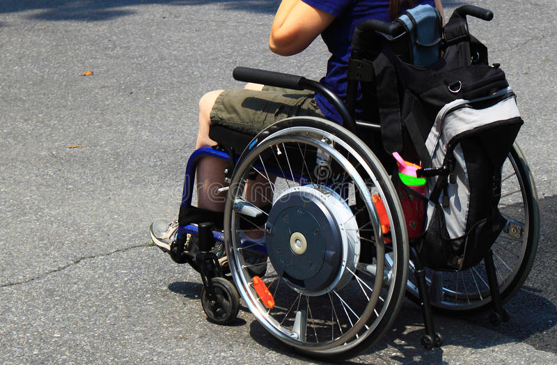 Disabled Wheelchair stock photography