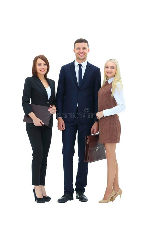 Persona acertada del negocio tres imagenes de archivo