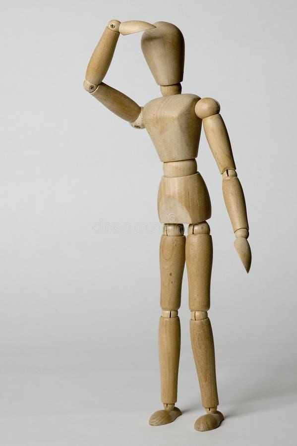 Persona de madera fotografía de archivo libre de regalías