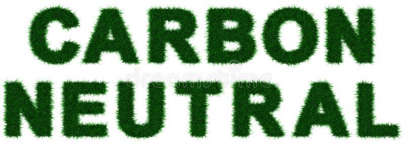 Persona neutrale del carbonio illustrazione vettoriale